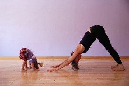 yoga and kids