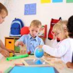 kids at preschool
